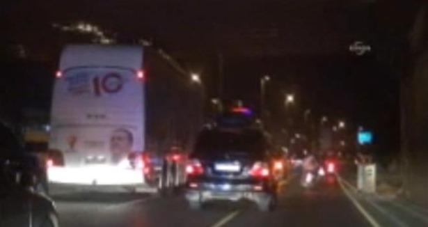 Автобус премьера Турции попал в аварию