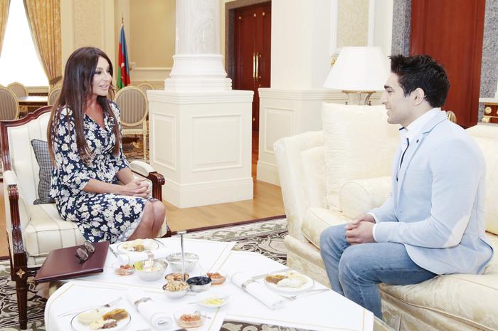 Мехрибан Алиева: Азербайджан уже в шестой раз был успешно представлен на конкурсе «Евровидение» (ФОТО)