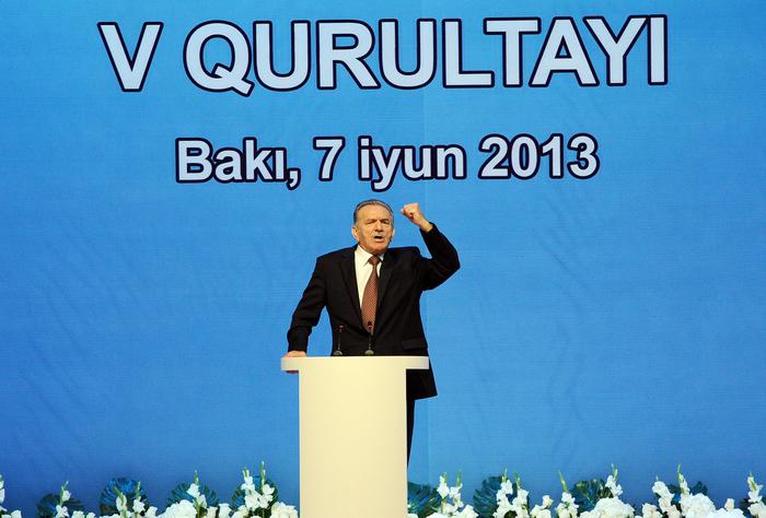 Президент Ильхам Алиев: Наша цель - могущественный Азербайджан, независимость, развитие, социальное благосостояние (ФОТО)