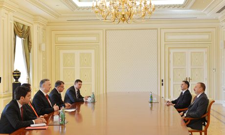 Президент Азербайджана принял главу МИД Боснии и Герцеговины