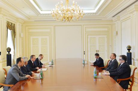 Президент Азербайджана принял главу МИД Беларуси
