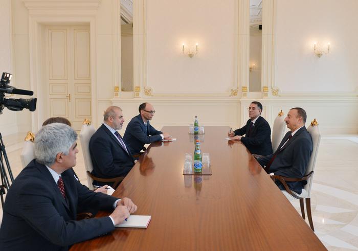 Prezident İlham Əliyev Avropa İttifaqının Cənubi Qafqaz üzrə xüsusi nümayəndəsini qəbul edib