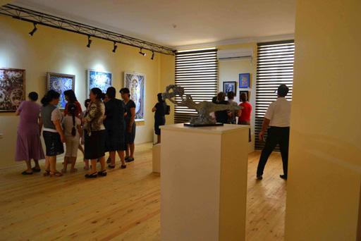 """В Саатлы в рамках """"Azerbaijan Art Festival-2013"""" состоялось открытие выставки (фото)"""