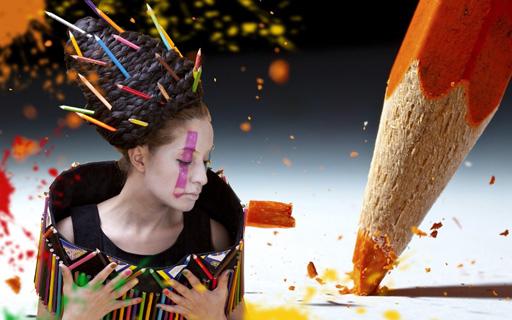"Аян Бабакишиева представила два креативных проекта ""Цветные карандаши"" и ""Апачи"" (фотосессия)"