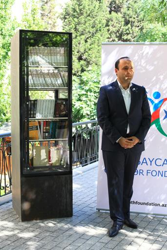 """В Азербайджане стартовал проект """"Открытая полка"""" (ФОТО)"""