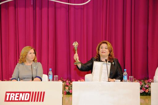 Bakıda Azərbaycan Respublikası Qadınlarının IV Qurultayı keçirilir (FOTO)