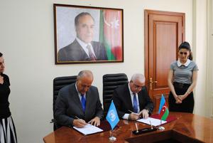 Azərbaycan hökuməti ilə FAO arasında yeni layihə sənədi imzalandı (FOTO)