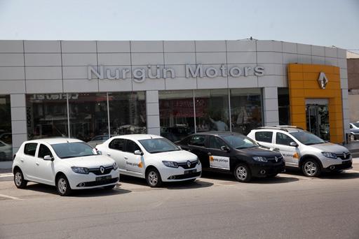 """Bakıda """"Renault""""un 3 əlamətdar modelinin test-dratvı keçirilib (FOTO)"""