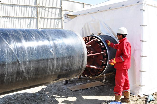 Строительство водопровода Джейранбатан-Пираллахи завершится раньше срока (ФОТО)