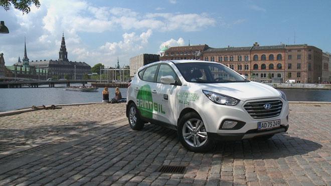 Hyundai первой в мире выпустила авто с водородным двигателем (ФОТО)