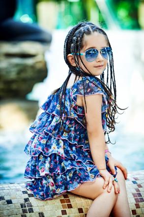 5-летняя Сельджан представит Азербайджан на международном фестивале Golden Sparkles (фото)