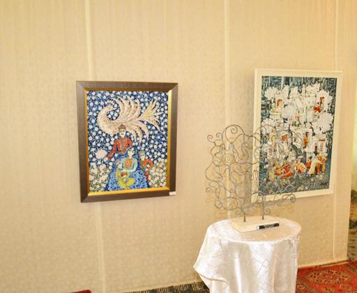"""В Шеки состоялось открытие выставки в рамках """"Azerbaijan Art Festival-2013"""" (фото)"""