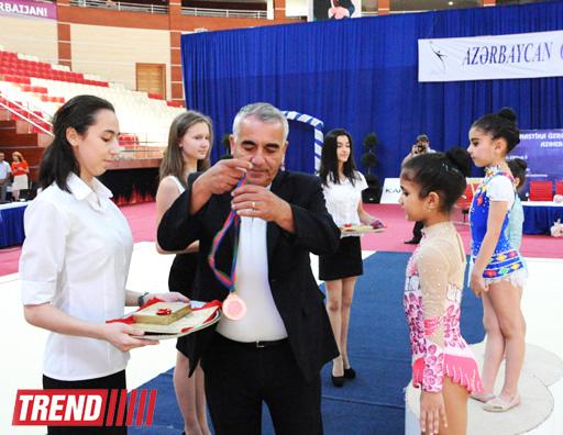 Определились первые победители 20-го первенства Азербайджана по художественной гимнастике (ФОТО)