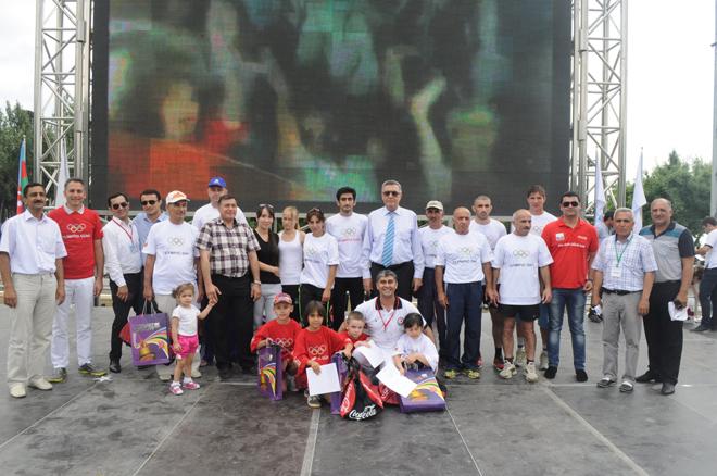 В Азербайджане прошел Международный день бега (ФОТО)