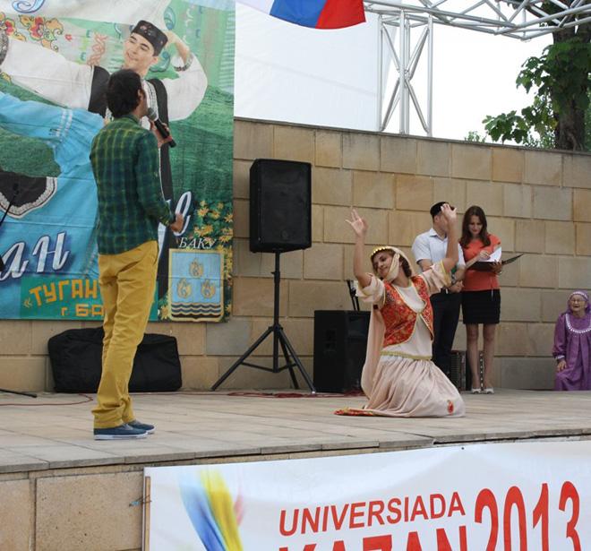 В Азербайджане отметили татарский праздник Сабантуй (фото)