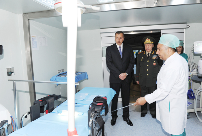 Prezident İlham Əliyev: Azərbaycanda hər bir sahədə - iqtisadiyyatın, xidmətin hər bir sahəsində ən yüksək standartlar olmalıdır (FOTO)