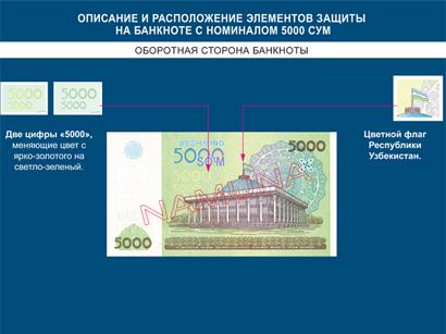 Центробанк Узбекистана сообщил о выпуске в обращение 5-тысячной купюры (ФОТО)