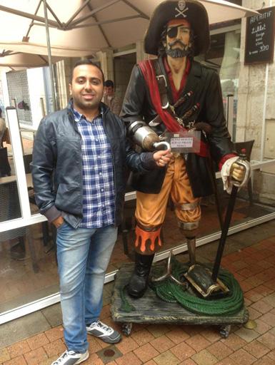 Сянан Шафизаде рассказал о пребывании во Франции - Ля Рошель и Форт Боярд  (фото)