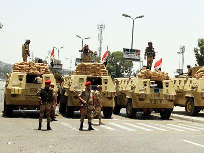 Египетские спецслужбы устранили 30 террористов наСинае
