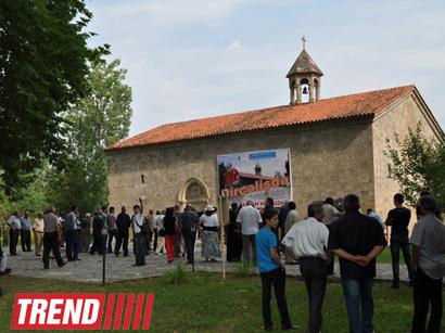 Azerbaijan celebrates 1700th anniversary of Christianity in Caucasian Albania  (PHOTO)