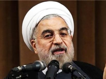 Ruhani: İran və Azərbaycan əlaqələri daha da möhkəmləndirmək niyyətindədir
