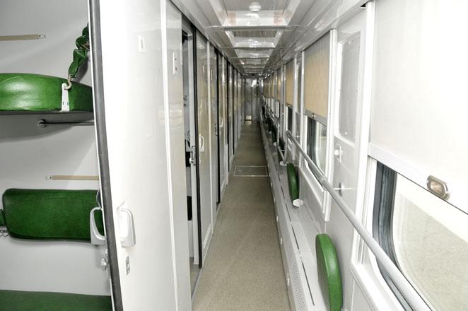 Azerbaijan renovates trains (PHOTO)