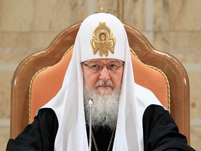 Patriarx Kiril: Azərbaycandakı pravoslavlar da müsəlman əksəriyyəti kimi bütün imkanlardan istifadə edirlər