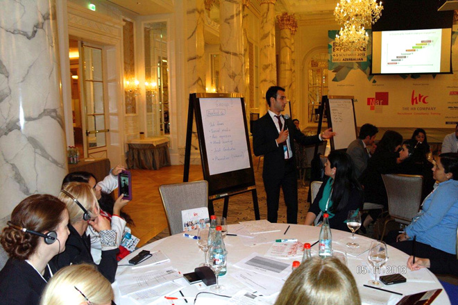 """HRC - платиновый спонсор и соорганизатор конференции """"Baku HR Experience"""" (ФОТО)"""