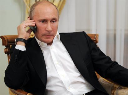 Putin Ruhanidən sonra Ərdoğana zəng vurub