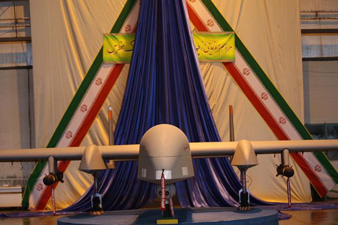 "Iran presents largest home-made UAV ""Fotros"" (PHOTO)"
