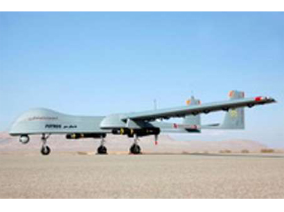 Iran unveils latest home-made drone ababil 3 picture.
