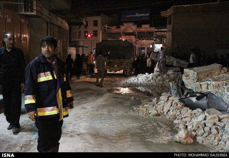 Image result for 75 injured in 5.9-magnitude earthquake in western Iran