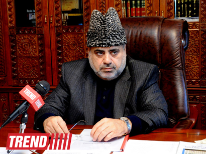 Head of Caucasus Muslims Office: Religious figures must put efforts for fair settlement of Nagorno-Karabakh conflict