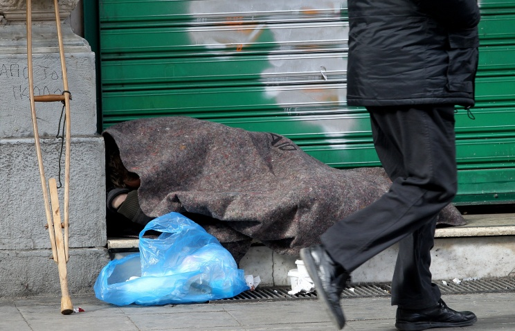 Number of rough sleepers in Derbyshire soars by 317 per cent