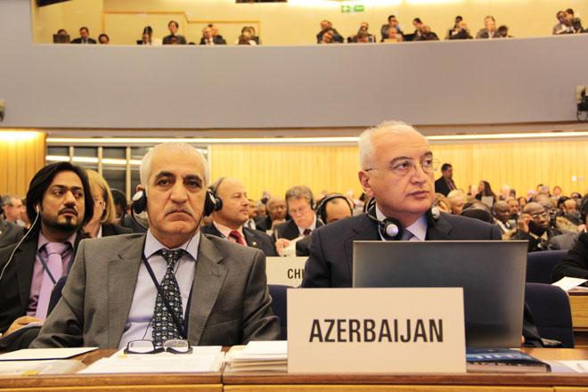Azerbaijan participates at International Maritime Organisation Assembly (PHOTO)
