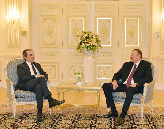 Azerbaijani president receives Bulgarian PM