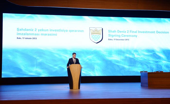President Aliyev: Shah Deniz-2 to provide long term successful economic development of Azerbaijan  (PHOTO)