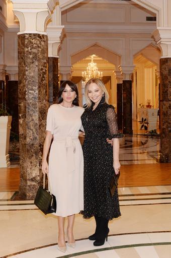 Azerbaijani First Lady meets famous Italian actress Ornella Muti