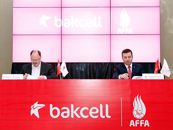 Bakcell becomes sponsor of Azerbaijani national football team