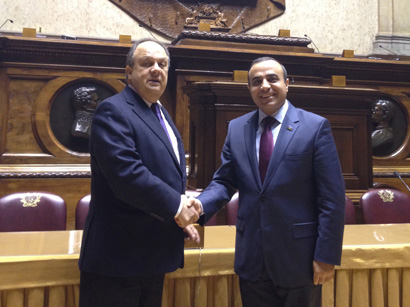 Azerbaijani MP, OSCE Special Representative for the South Caucasus  discussed regional conflicts