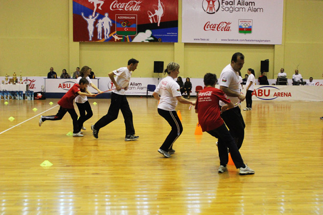 Final of First Family Sport Tournament held in Baku (PHOTO)
