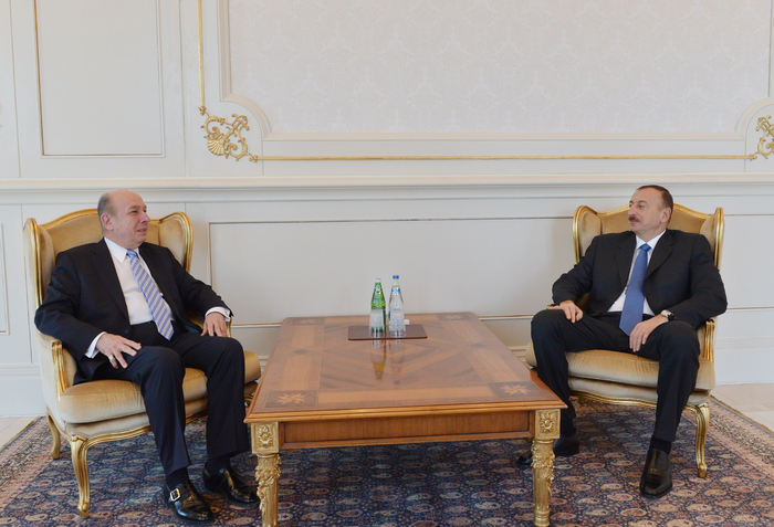 Azerbaijani president receives outgoing head of OSCE Office in Baku