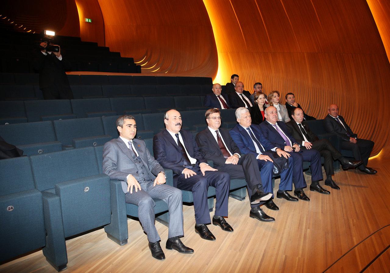 President of Dagestan visits Heydar Aliyev Center in Baku (PHOTO)