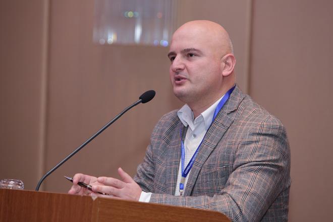 """В Баку проходит международная конференция """"Азербайджан-Грузия-Турция: трехсторонний союз и будущее региональной политики"""""""
