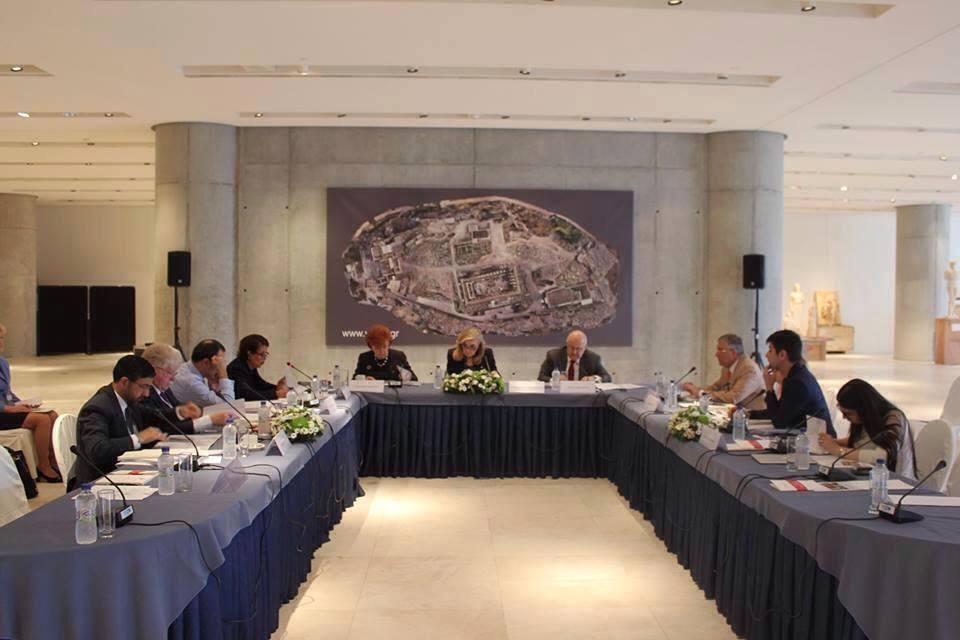 В Греции прошло очередное заседание Совета правления Международного центра Низами Гянджеви  (ФОТО)
