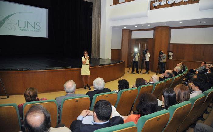 На Творческой сцене «ÜNS» состоялась презентация фильма, повествующего о необычном творческом мире талантливого художника Марьям Алекберли (ФОТО)