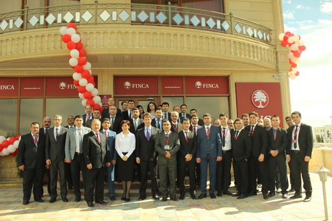 """FINCA Azerbaijan""ın Ağdaş filialının yeni ofisi açılıb"