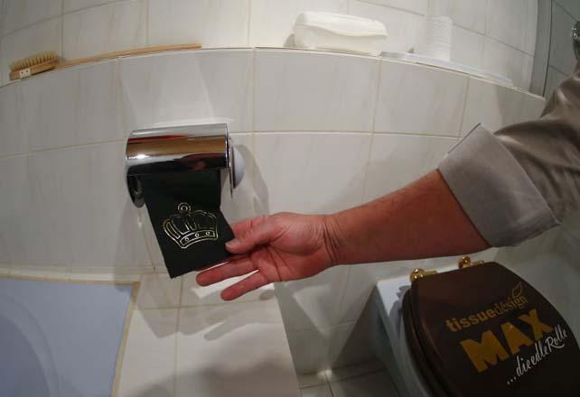24 karatlıq tualet kağızı (FOTO)