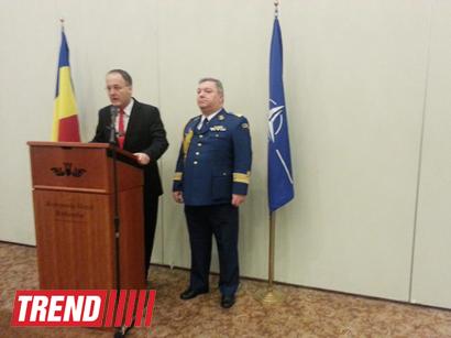 Bakıda Rumıniyanın NATO-ya üzvlüyünün 10 illiyi münasibətilə rəsmi qəbul təşkil olunub (FOTO)