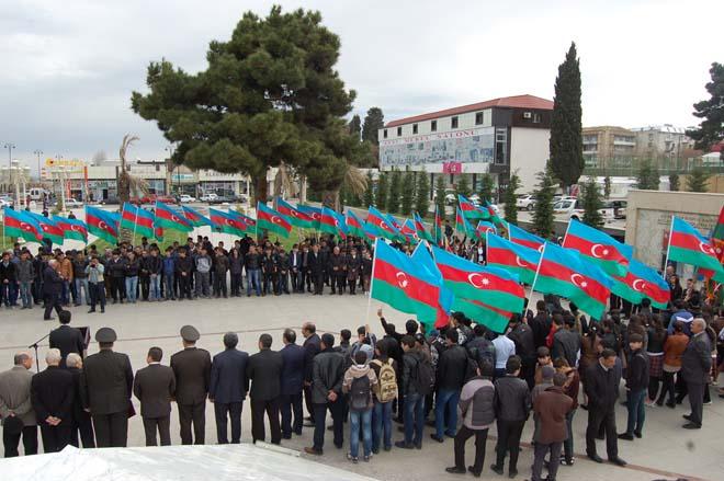 Vətənə xidmət müqəddəs borcdur (FOTO)